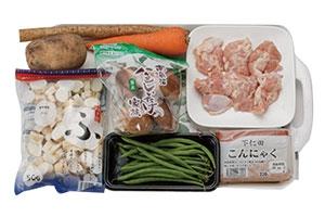 椎茸と鶏肉の簡単煮物
