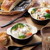 鶏肉と秋野菜のとろとろクリームシチュー