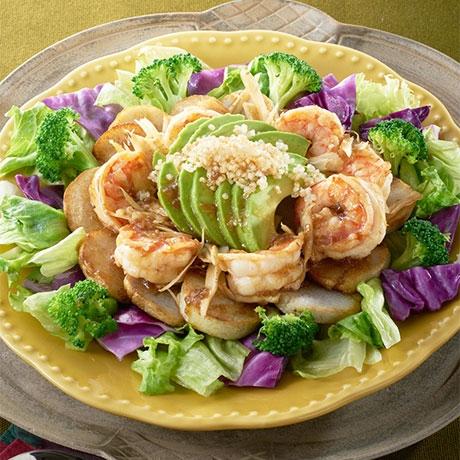 里芋とえびのECHIGO salad