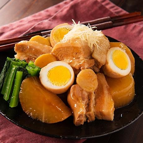 生姜たっぷり豚角煮