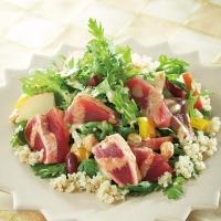 春菊とまぐろのECHIGO salad