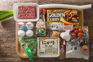 ゴロゴロ豆腐のカレー麻婆