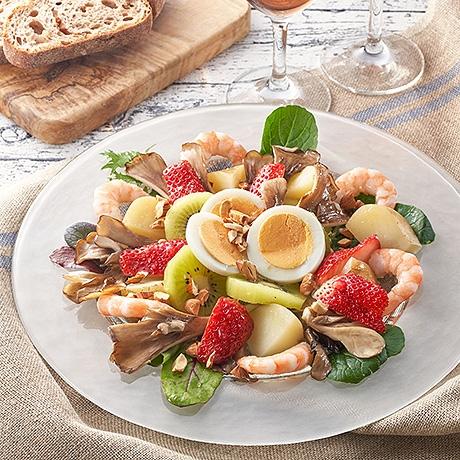 えびと春野菜のECHIGO  salad