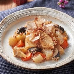 春野菜の土佐煮