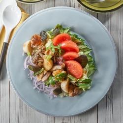焼きかぶと春野菜のECHIGO salad