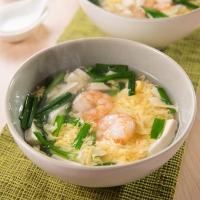 えび玉スープ中華風