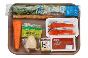 極醸塩銀鮭の炊き込みごはん
