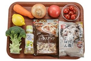 トマトと雑穀のECHIGO salad