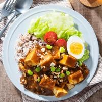 豆腐とミックスナッツのカレー