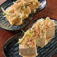 マヨぽん豆腐