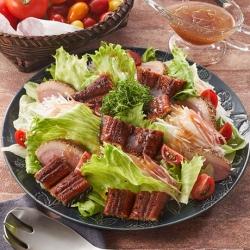 極醸うなぎと香味野菜のECHIGO salad