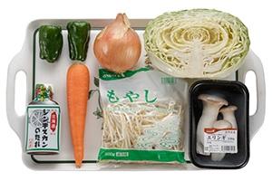 ジンギスカン野菜炒め