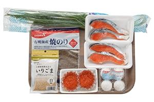 ごろっと鮭ふりかけ丼