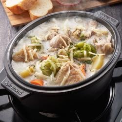 シュクメルリ風豆乳鍋