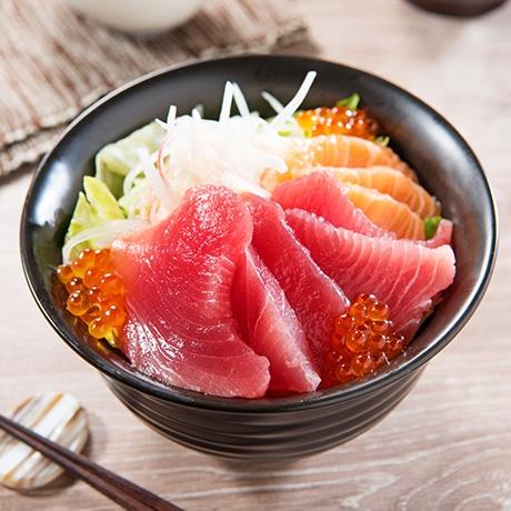 カルパッチョ風海鮮丼