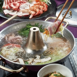 野菜と食べる 肉しゃぶ魚しゃぶ