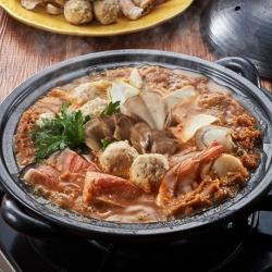 土手鍋風海鮮キムチみそつみれ鍋
