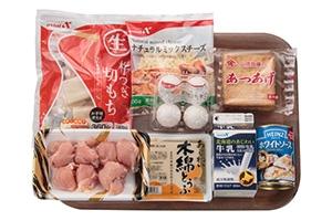もち入り豆腐グラタン