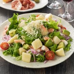 えびたっぷりルレクチェのECHIGO salad