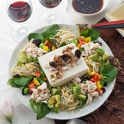 春の中華風サラダ
