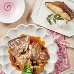 真鯛みそ焼き・真鯛かぶと煮