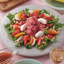 ローストビーフといちごのECHIGO salad