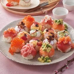 コロコロこぼれバラちらし寿司