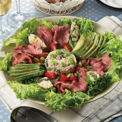 具だくさんうの花のECHIGO salad