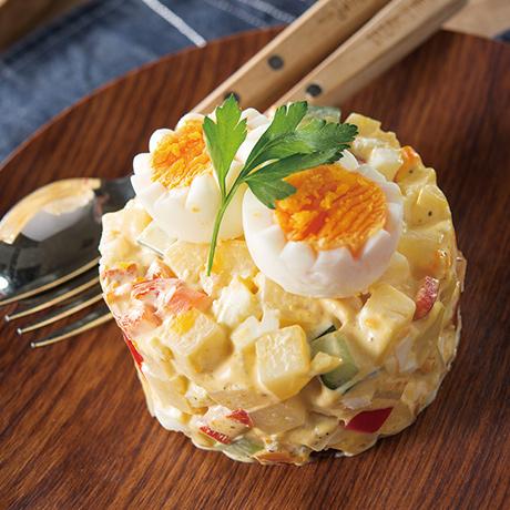 ポテトサラダ~サラダオリビエ風~